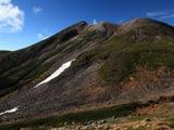 乗鞍岳山頂秋景