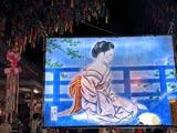 七夕絵灯籠祭りは夏の風物詩