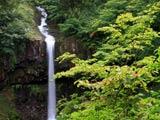 初秋の曽利滝