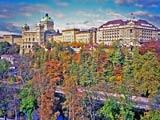 アートなスイス国会議事堂とホテル・ベルビューパレス