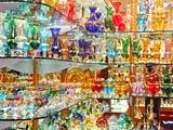 ベネチアングラスの棚