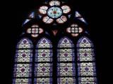 パリ・ノートルダム寺院のステンドグラスC