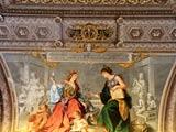 バチカン美術館の華やかな天井画