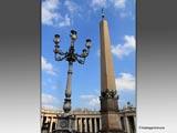バチカン サン・ピエトロ広場のオベリスク